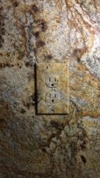 Granite Switch Plate Faux