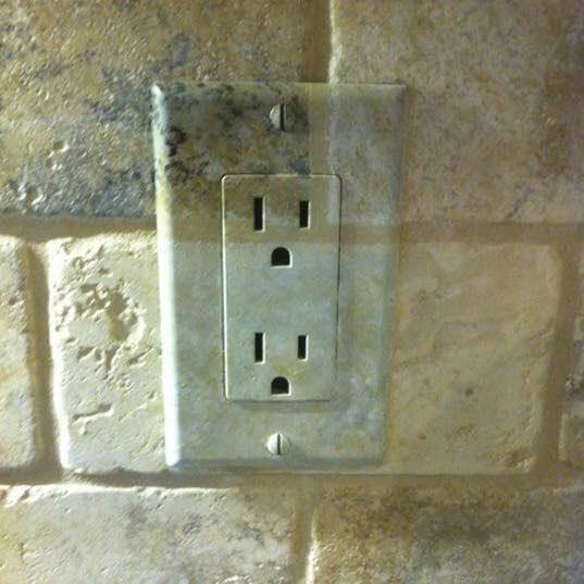 Tile Switch Plate Faux