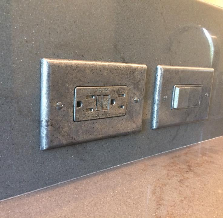 2 granite switchplate
