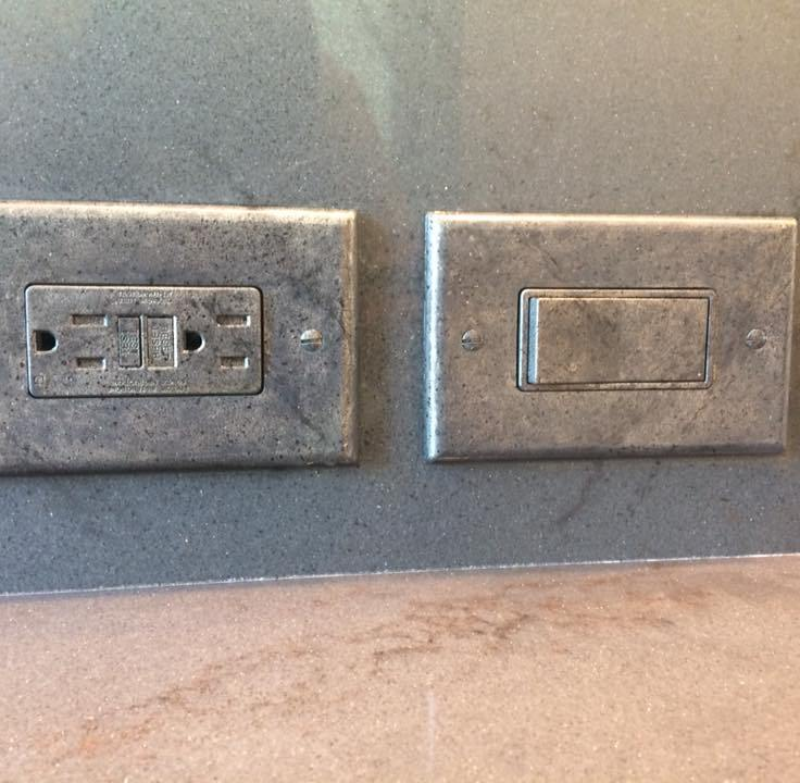 3 granite switchplate